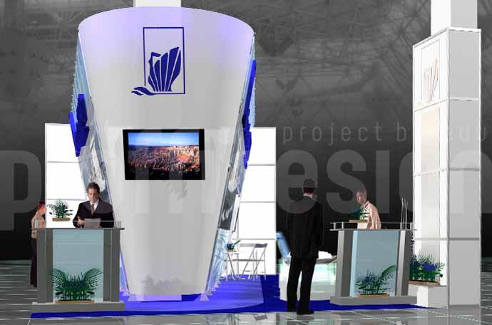 Дизайн выставочного стенда компании «БАЛТИЙСКИЙ ЗАВОД»