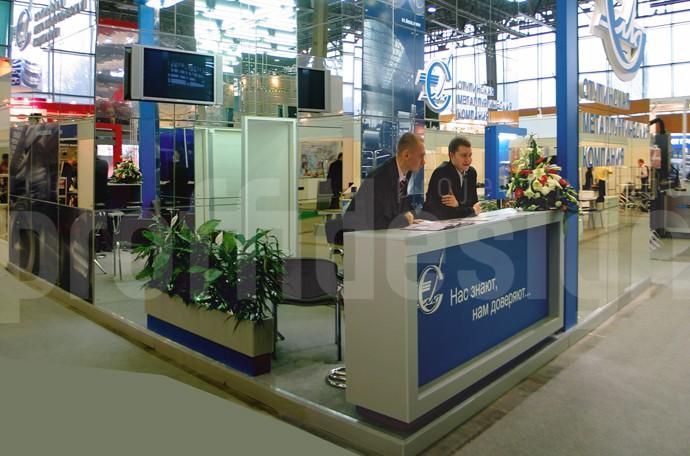 Дизайн стенда бизнес класса «Ступинской металлургической компании» - фото