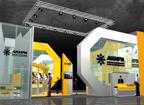 Дизайн проект выставочного стенда бизнес класса компании АКИРА