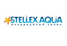 Дизайн логотипа для аквариумного салона STELLEX AQUA.