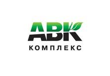 Дизайн логотипа компании «АВК комплекс» (работы по благоустройству и озеленению)