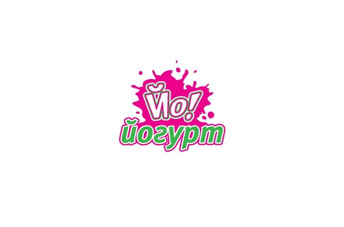 Логотип для кафе фастфуд «Йо-йогурт»