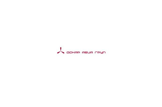 Логотип  для авиационной  компании «Оскар-Авиа Груп»
