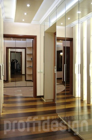 Ремонт четырёхкомнатной квартиры по дизайн проекту