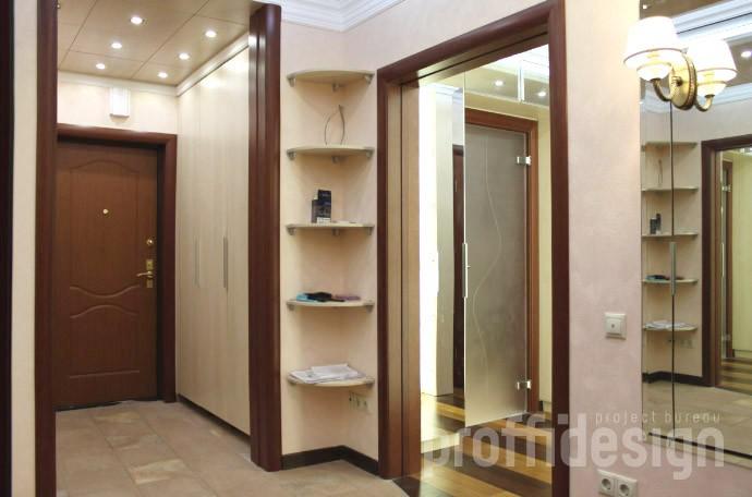 Дизайн и ремонт четырёхкомнатной квартиры - фото