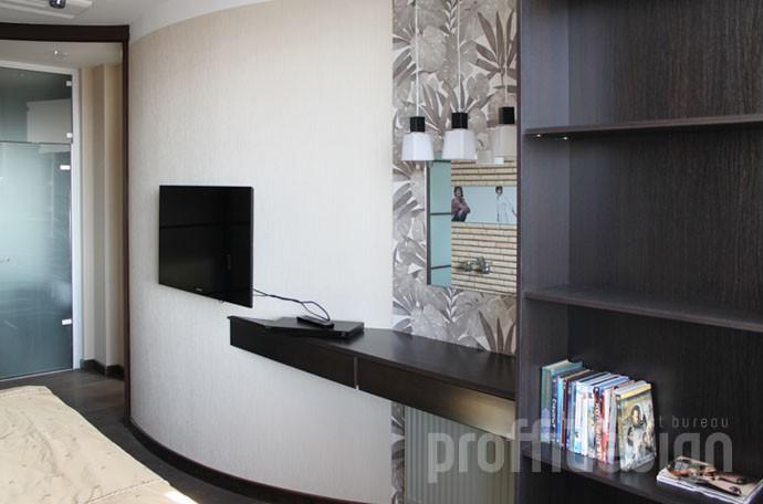 Дизайн интерьера спальни - мебель по индивидуальному проекту - фото