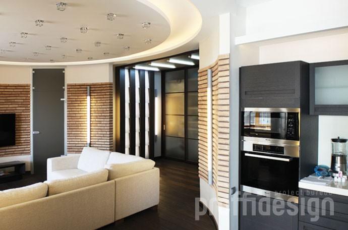 Дизайн интерьера московской квартиры на улице Гарибальди - фото