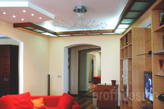 Дизайн  интерьера квартиры в Химках, гостиная