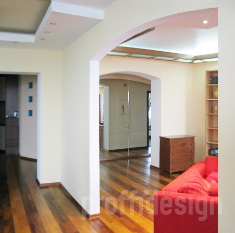 Дизайн  интерьера квартиры в Химках