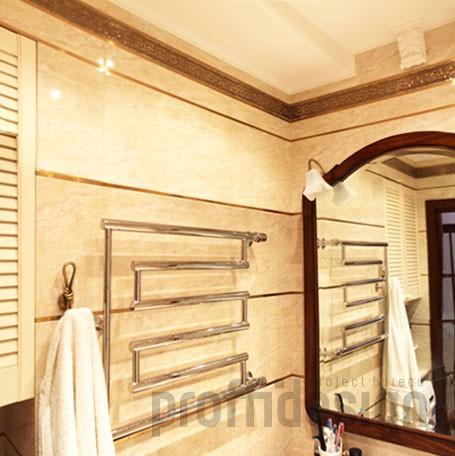 Дизайн интерьера санузла в квартире в Москворечье-Сабурове