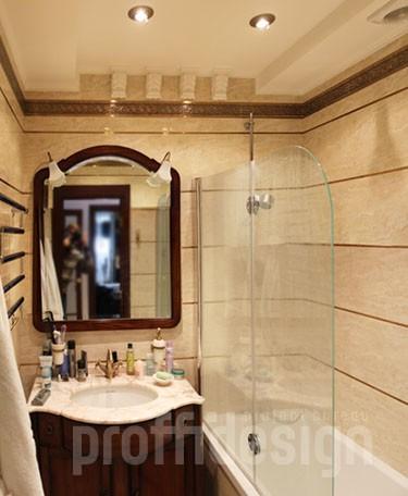 Дизайн санузла в квартире в Москворечье-Сабурове - фото