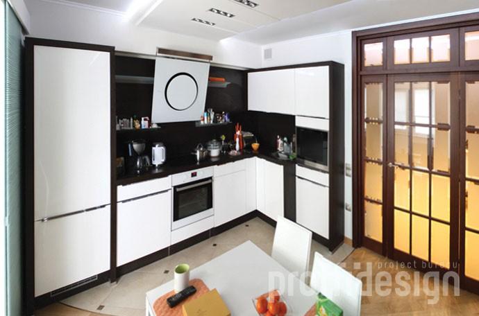 Дизайн интерьера квартиры в Москворечье-Сабурово - фото
