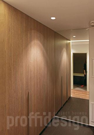 шкаф-гардероб и зеркало в прихожей фото