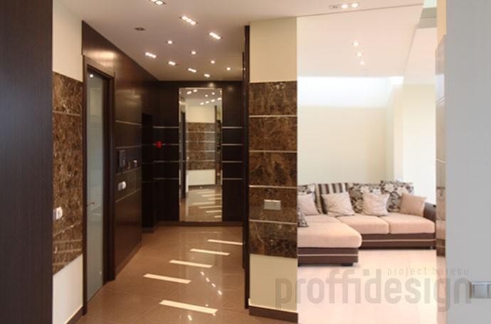 Дизайн интерьера квартиры на Можайском шоссе - коридор