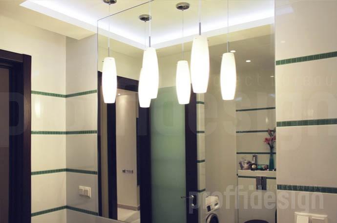 Дизайн интерьера московской квартиры - санузел