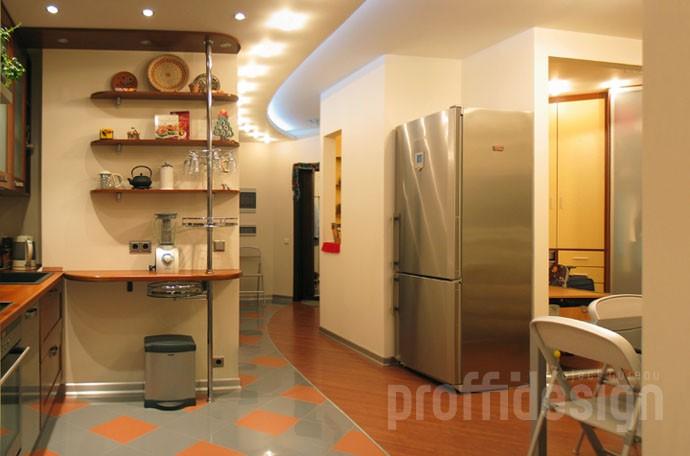 Дизайн интерьера квартиры-студии в Москве
