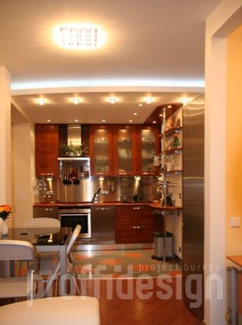 Дизайн интерьера квартиры-студии в Москве на Рублевском шоссе