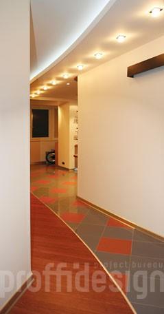 Дизайн интерьера квартиры-студии_коридор