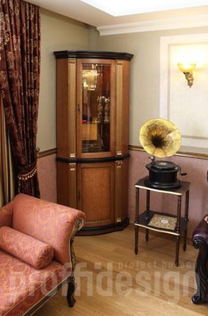 Дизайн интерьера в классическом стиле - фото