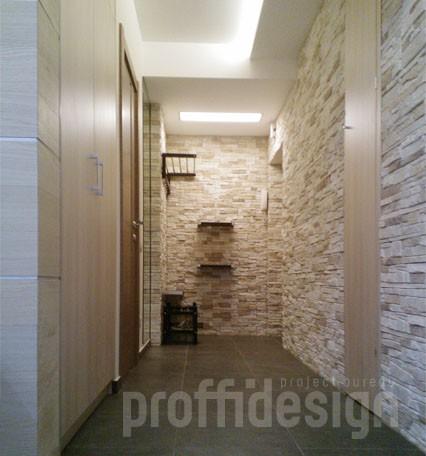Дизайн квартиры коридор с входной группой - фото