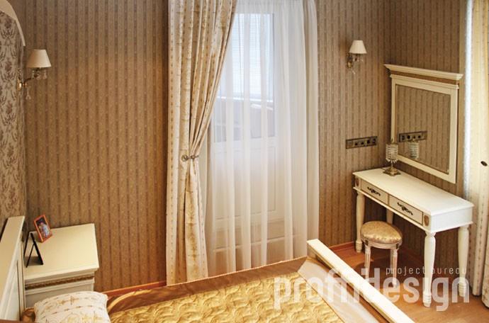 Дизайн и ремонт квартиры в классическом стиле, дизайн интерьера спальни