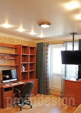 Дизайн и ремонт московской квартиры, дизайн комнаты для мальчика