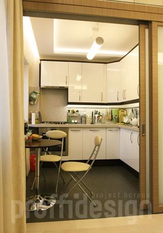 Дизайн пятиметровой кухни в малогабаритной квартире