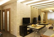 Дизайн с перепланировкой и ремонт двухкомнатной квартиры - фото