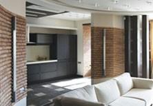 Дизайн и элитный ремонт квартиры  (улица Гарибальди - Москва)