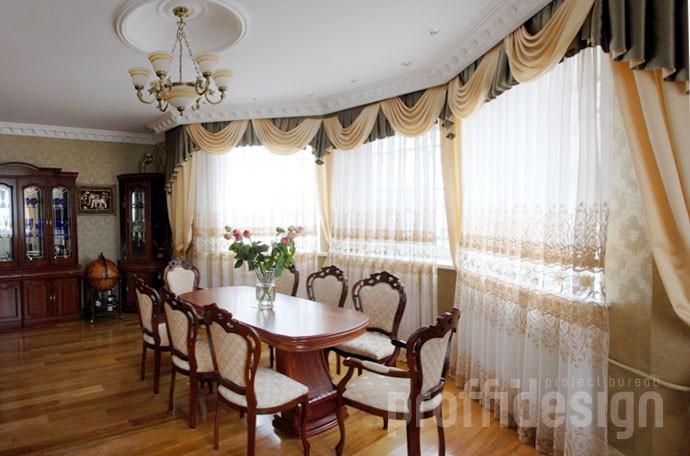 Фото дизайн интерьера загородного дома - Калужское шоссе, МО