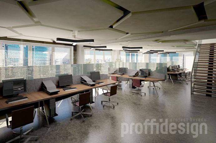 Заказать оригинальный дизайн интерьера офиса
