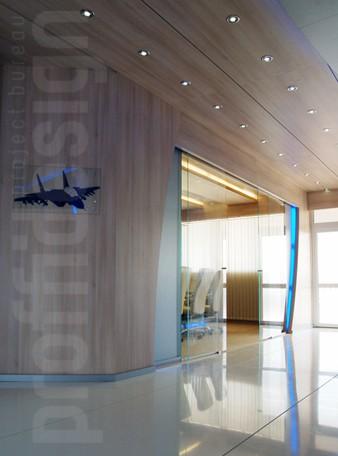 Дизайн интерьера шале компании РОСОБОРОНЭКСПОРТ на выставке