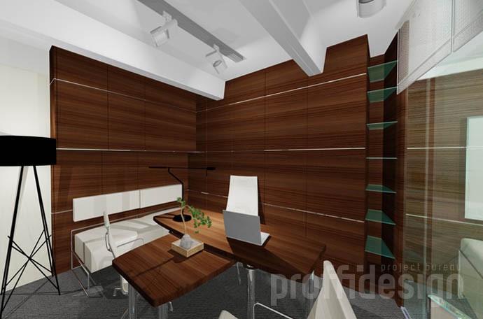 Дизайн интерьера кабинета руководителя бюро
