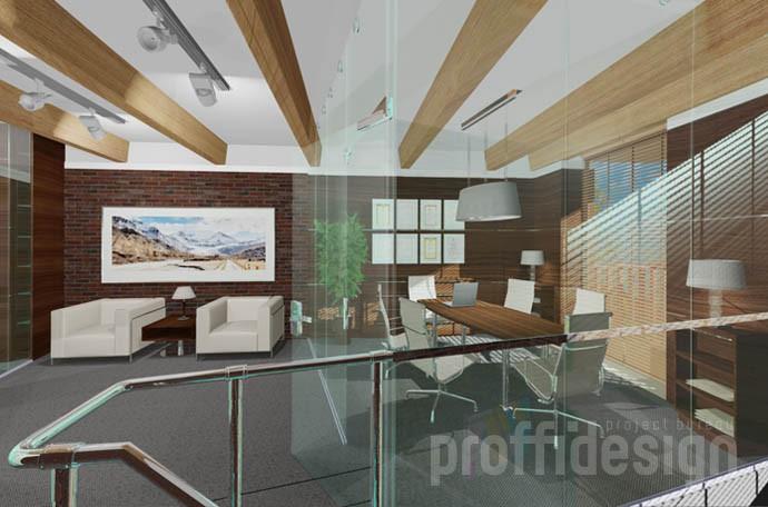 Дизайн интерьера офиса для юридической компании