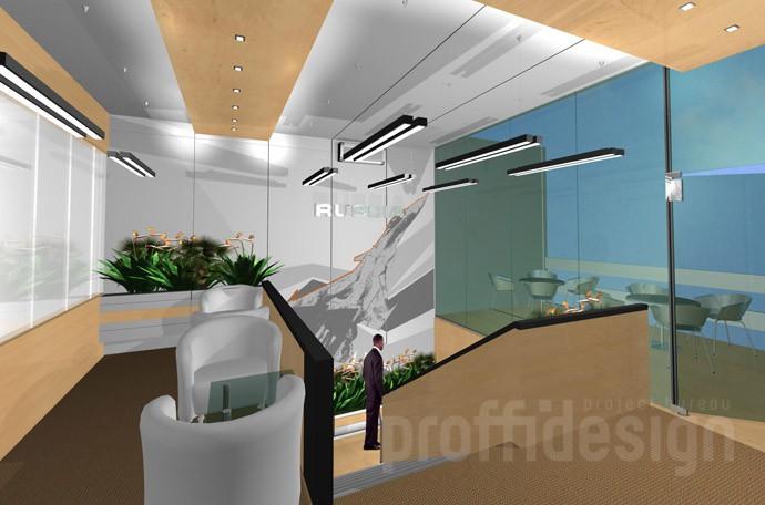 Дизайн проект интерьера офиса «РОСОБОРОНЭКСПОРТ»