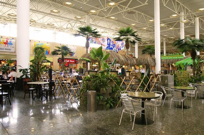 Дизайн фуд-корта (ресторанного дворика) «Лас Пальмас», фото