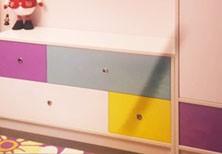 Мебель для детской комнаты: шкаф, тумба, полки, комод