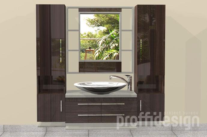 """Мебельный комплекс для ванной комнаты. """"Филадельфия-3""""."""
