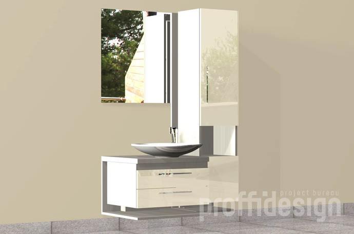 """Комплект мебели для ванной комнаты """"Барселона-2"""""""