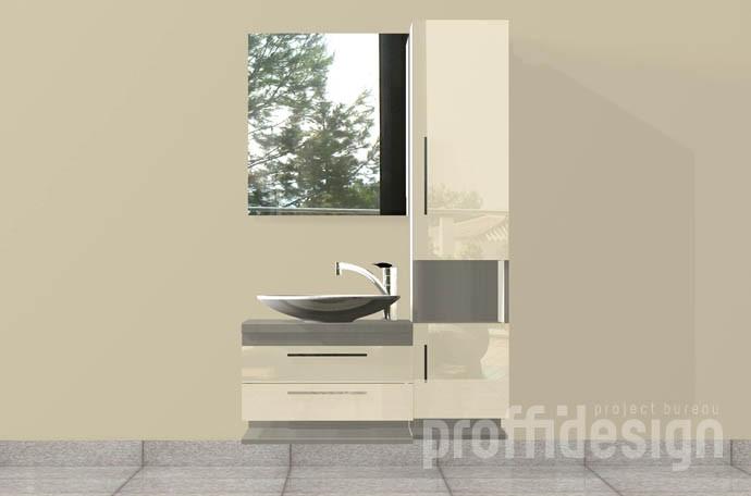 Изготовить мебель для ванной комнаты, комплект мебели в санузел в Москве