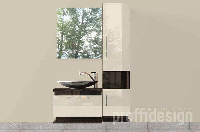 """Изготовить комплект мебели для ванной комнаты """"Барселона-2"""""""