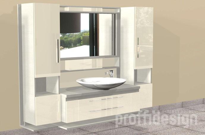 """Комплект мебели для ванной комнаты. """"Филадельфия-1""""."""