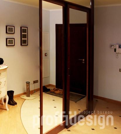 шкаф-купе дверцы с зеркалом до пола