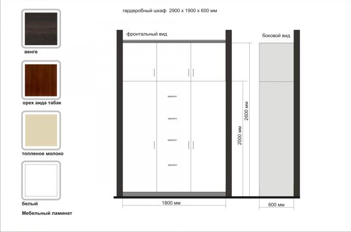 Изготовление встраиваемого шкафа в Москве на заказ