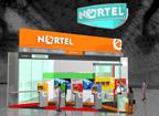 Дизайн выставочного стенда бизнес класса компании NORTEL.