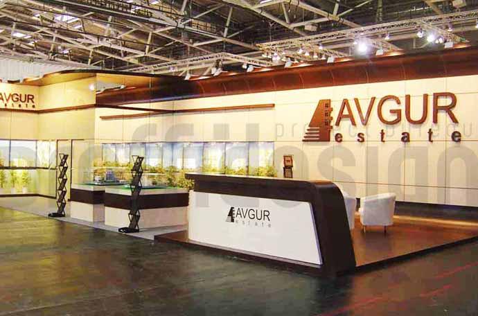 фото выставочного стенда компании АВГУР ЭСТЕЙТ в Мюнхене