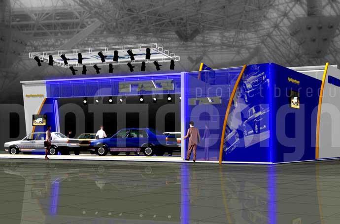 Дизайн стенда группы компаний «ГАЗ»