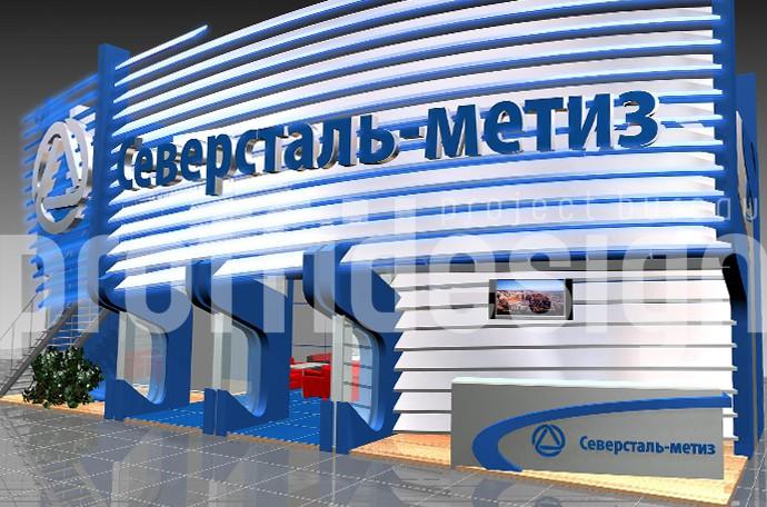 Дизайн выставочного стенда «Север Сталь»