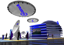 Дизайн выставочного стенда компании CROSNA