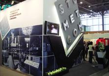 Дизайн и строительство выставочного стенда «СМК»